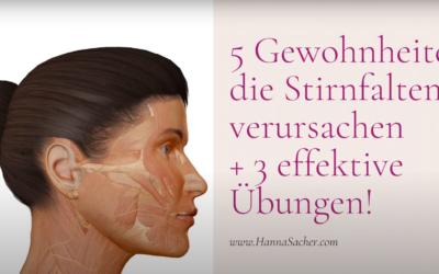 Video: Stirnfalten – 5 Gewohnheiten, die du ändern musst + 3 Übungen